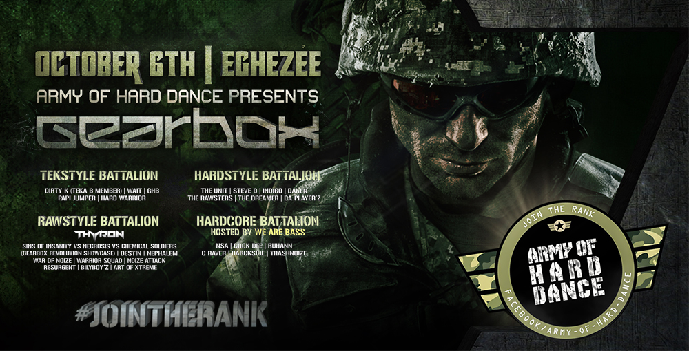 Army Of Harddance Eghezee 06/10 Reg