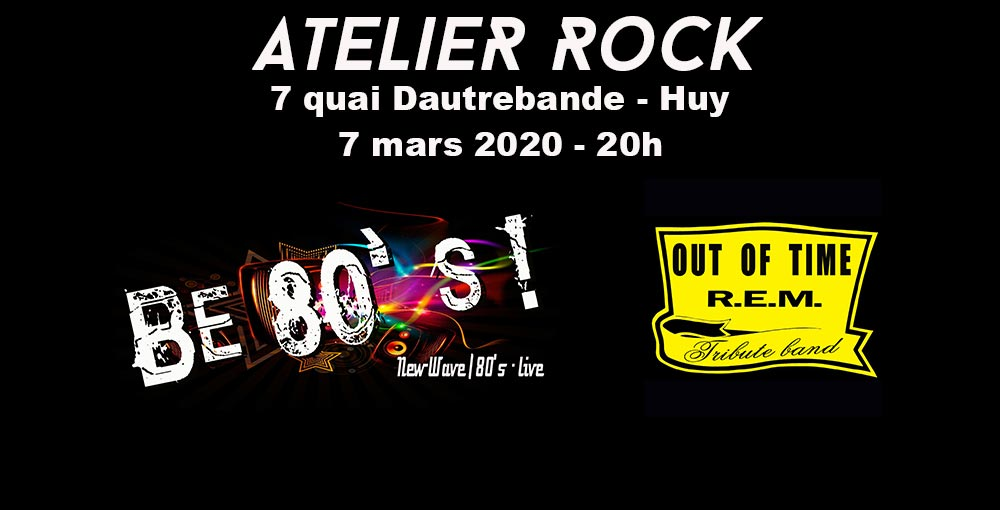 BE 80's + OUT OF TIME - HUY 07/03