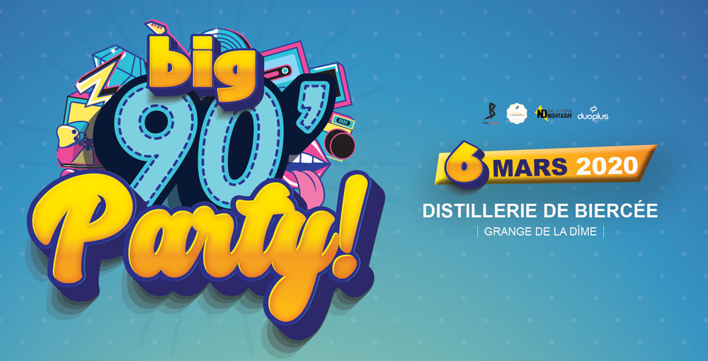 BIG 90s PARTY - BIERCEE THUIN 06/03