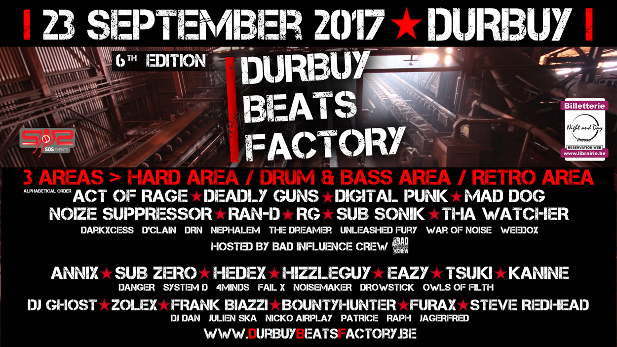 Durbuy Beats Factory - 23/09 Eb