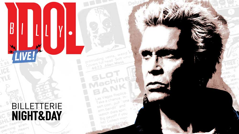 Billy Idol - Bruxelles 18/06