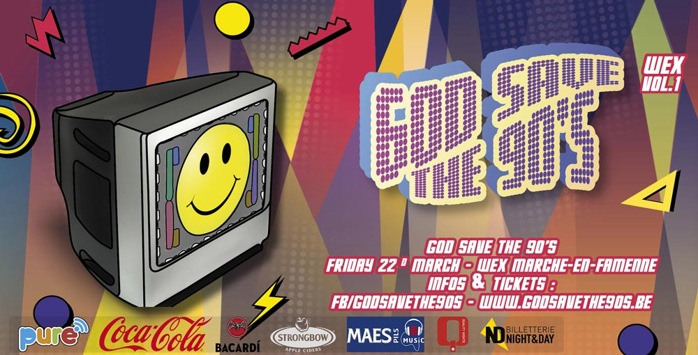 God Save The 90's - Wex Vol.1 22/03