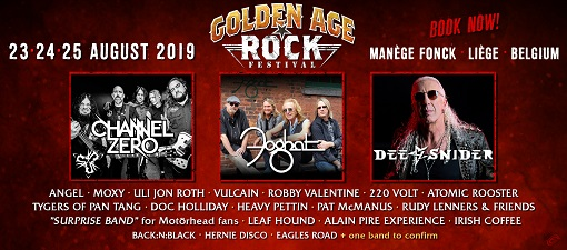 GOLDEN AGE ROCK FESTIVAL COMBI 3J