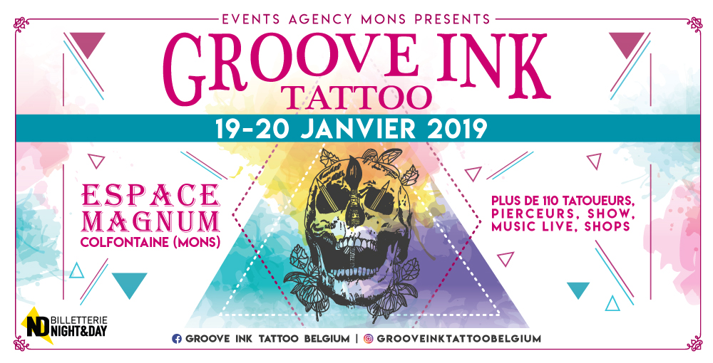 Groove Ink Tattoo Belgium Sam 19/01