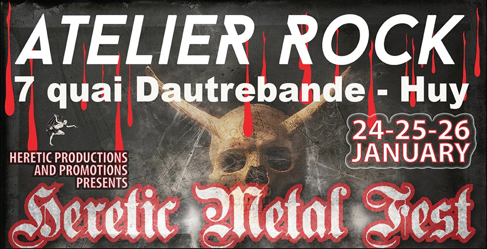 Heretic Metal Fest Huy Pass 3 Jours