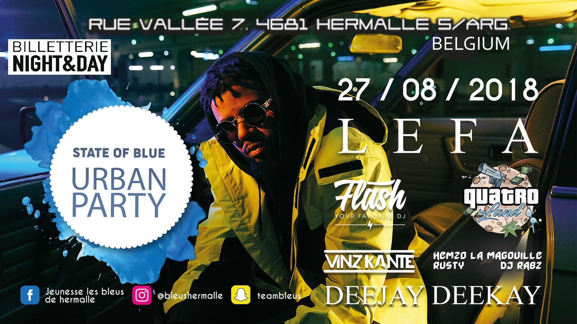 HERMALLE 27/08 - AN URBAN PARTY