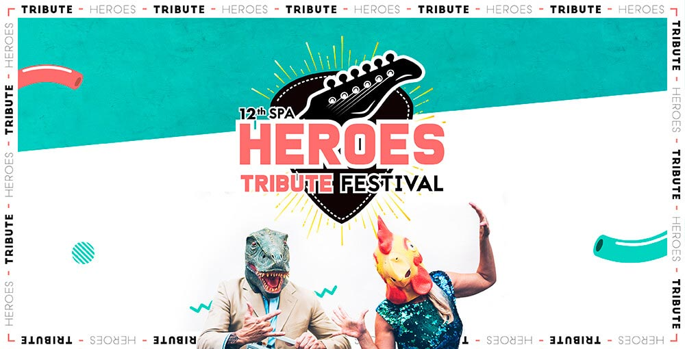 HEROES SPA TRIBUTE FESTIVAL PASS 3J
