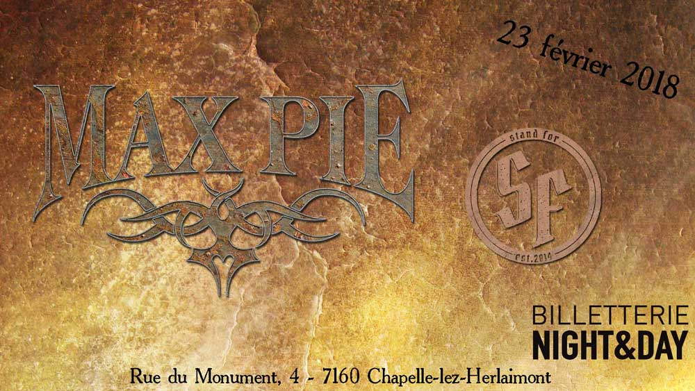 Max Pie +stand For -le Cercle 23/02
