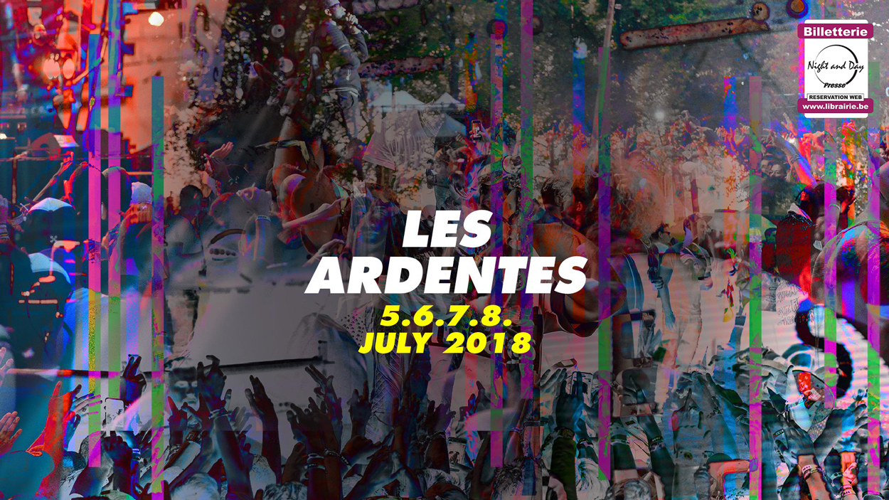 Les Ardentes 18 - Pass 4 Days