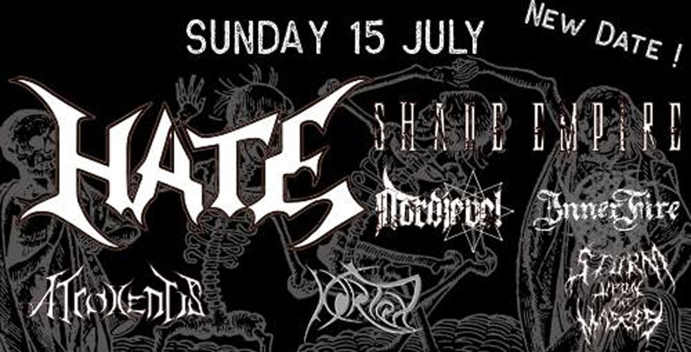 Hate +shade Empire Le Cercle 15/07