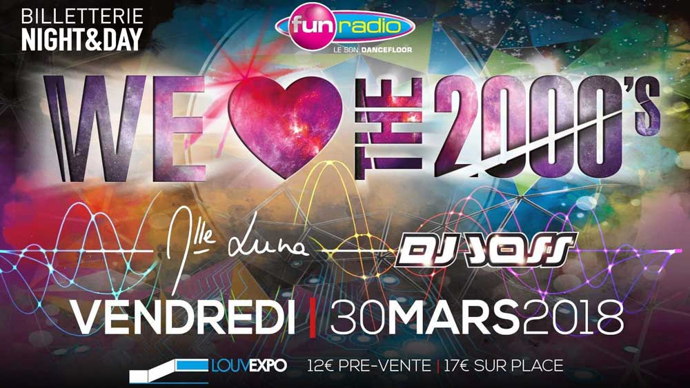 WE LOVE THE 2000 - LOUVEXPO 30/03