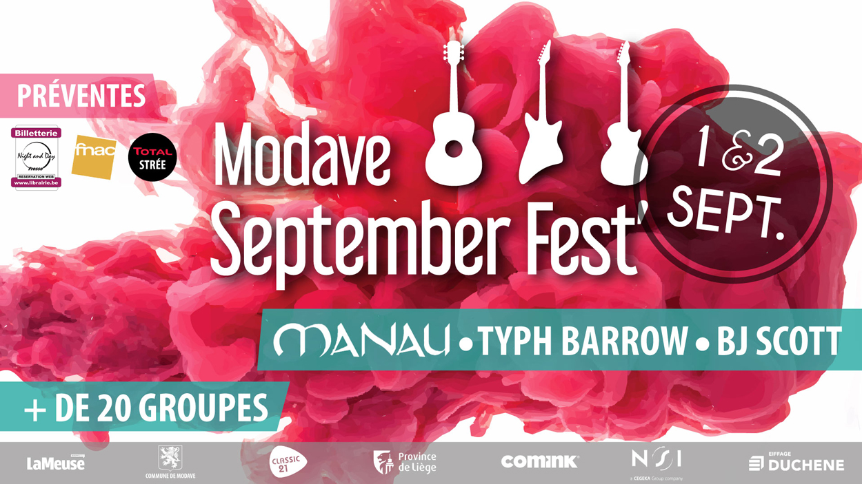 Modave September Fest' 17 01/09 Reg