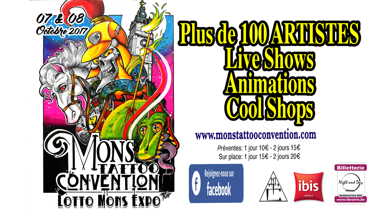 Mons Tattoo Convention 2017 Pass 2j