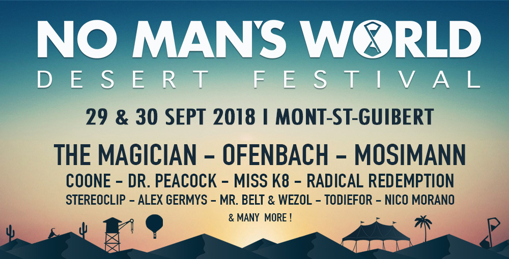 No Man's World Festival Pass 2j