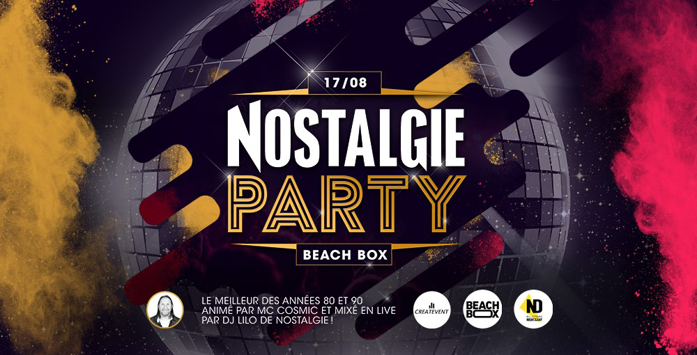 Nostalgie Party - 17/08 Liege