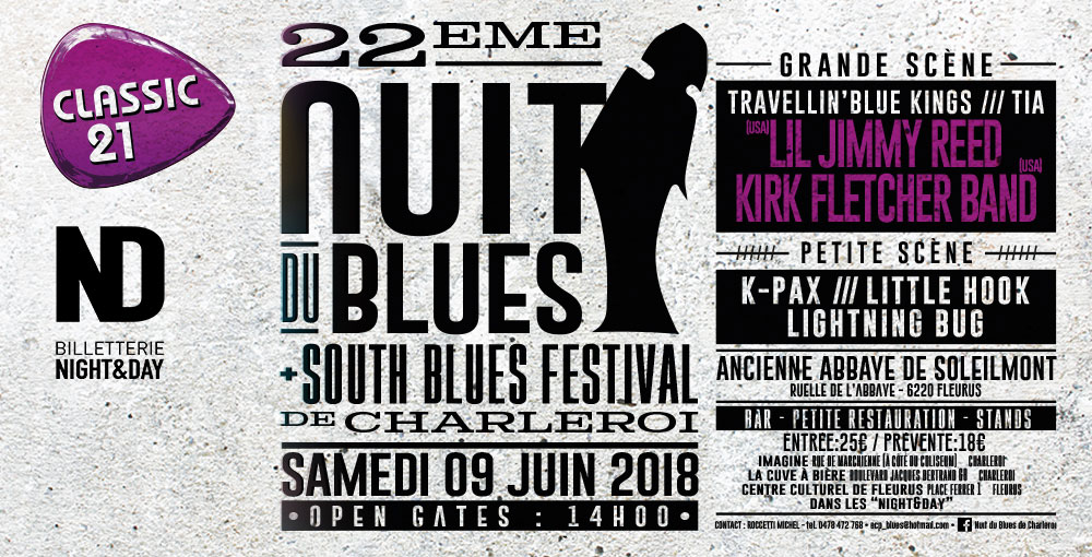 22e Nuit Du Blues - Charleroi 09/06