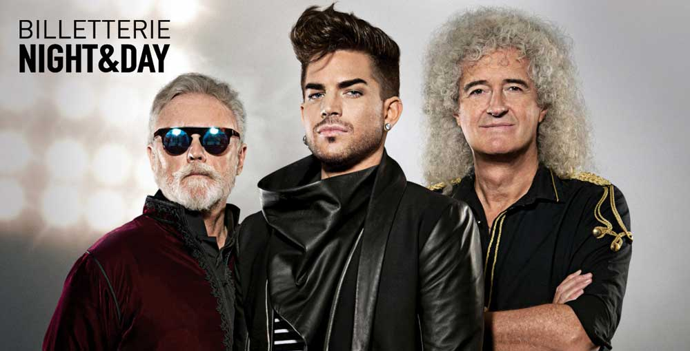 Queen +adam Lambert Anvers 29/06