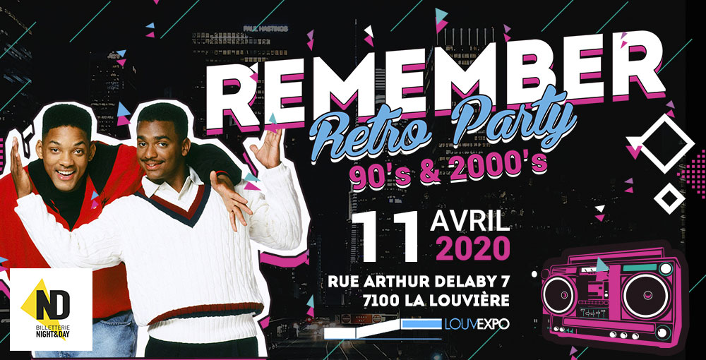 REMEMBER 90s 2000s - LOUVEXPO 11/04