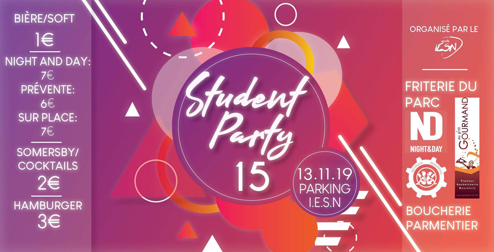 STUDENT PARTY 15 - IESN 13/11