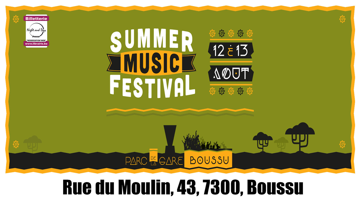 Summer Music Festival Boussu 2 Days
