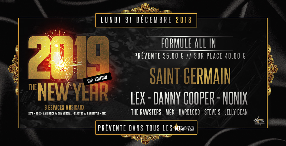 THE NEW YEAR - SAINT-GERMAIN 31/12