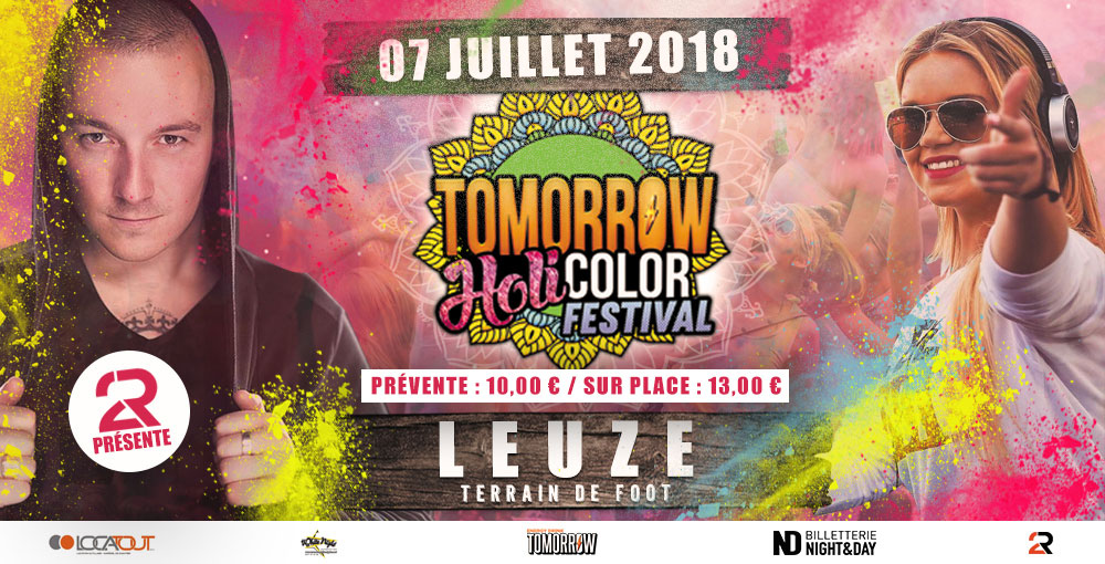 Tomorrow Holi Color Leuze 07/07