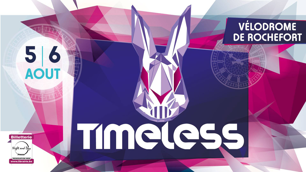 Timeless Festival Rochefort Pass 2j