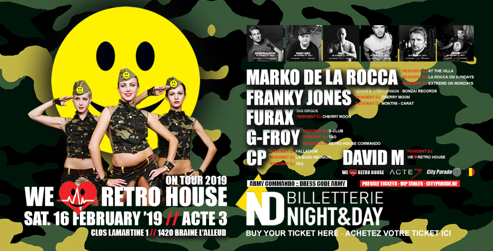 We Love Retro House - Acte 3 16/02