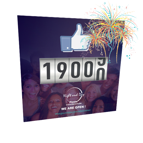 Facebook Night & Day: 19.000 followers !