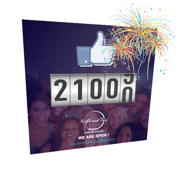 Facebook Night & Day: 21.000 followers !