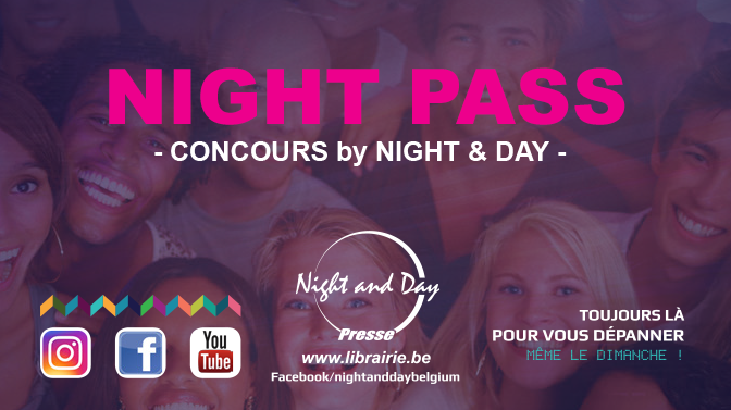 Night Pass: La carte concours des magasins Night & Day