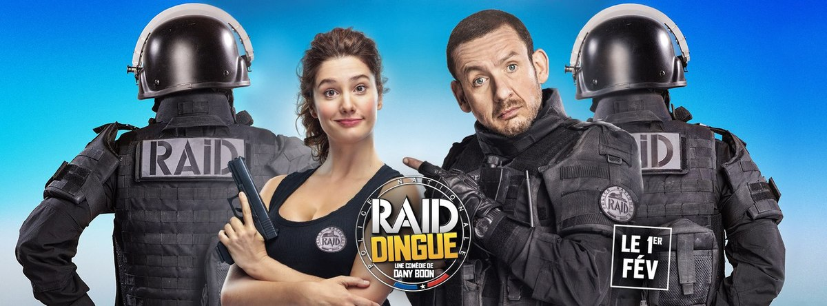 SORTIE DVD & BLU RAY: RAID Dingue