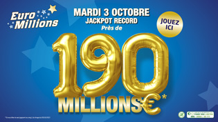 Cagnotte EuroMillions 03.10.2017